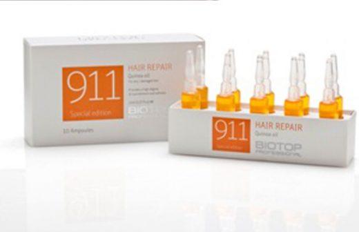 אמפולות לטיפול 911 BIOTOP