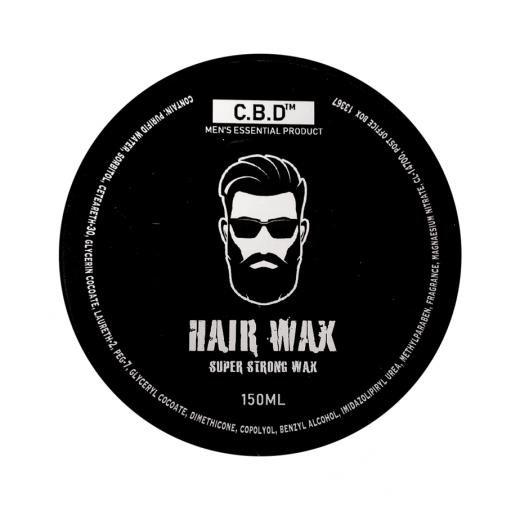 חדש! - וקס מים לשיער C.B.D
