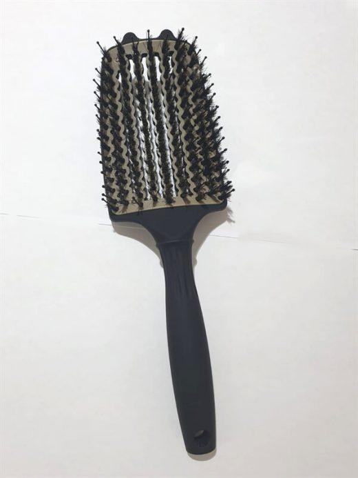 מברשת לשיער מתירה קשרים רחבה - צבע שחור