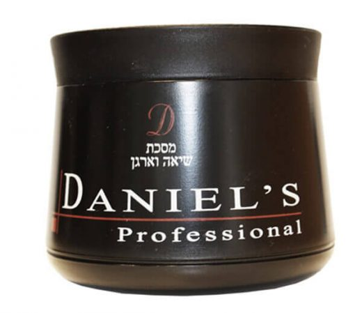 מסכה שיאה וארגן לשיער ללא מלחים דניאלס