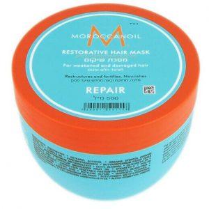 מסכת שיקום לשיער חלש ופגום שמן מרוקאי MOROCCANOIL
