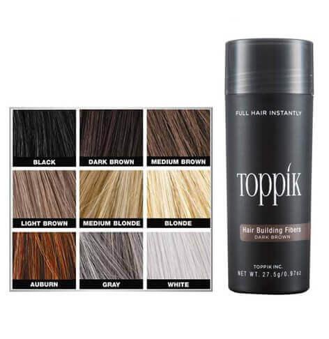 סיבי שיער 27.5 גרם טופיק TOPPIK