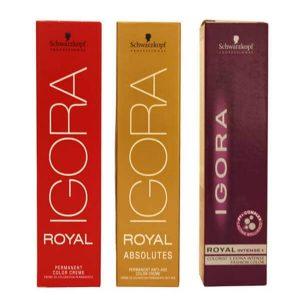 צבע לשיער איגורה שוורצקופף IGORA