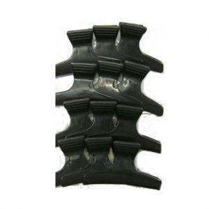 קליפס לשיער - מארז 12 יחידות שחור