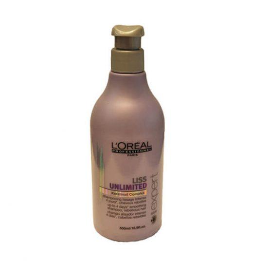 שמפו Liss unlimited לשיער מקורזל 500 מל לוריאל