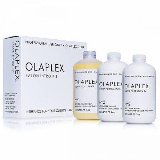 ערכת אולפלקס OLAPLEX מקצועית 525 מ''ל 3 בקבוקים 1+2+2