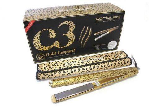 מחליק שיער טיטניום קוריוליס C3 זהב