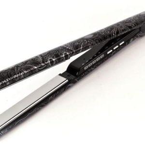 מחליק שיער טיטניום קוריוליס C3 שחור כסוף