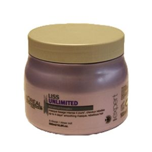 "מסכה לוריאל לשיער מקורזל liss unlimited 500 מ""ל LOREAL"