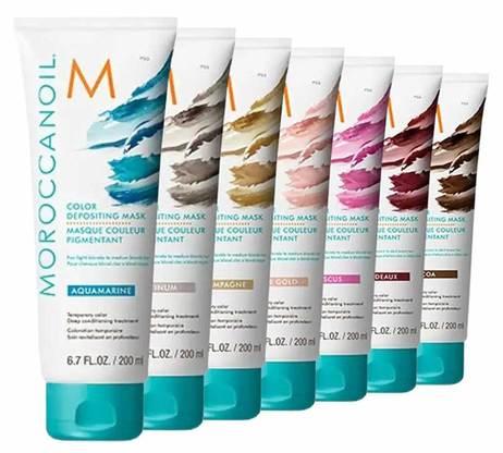 """מסכת צבע שמן מרוקאי 200 מ""""ל - Moroccanoil שמן מרוקאי"""