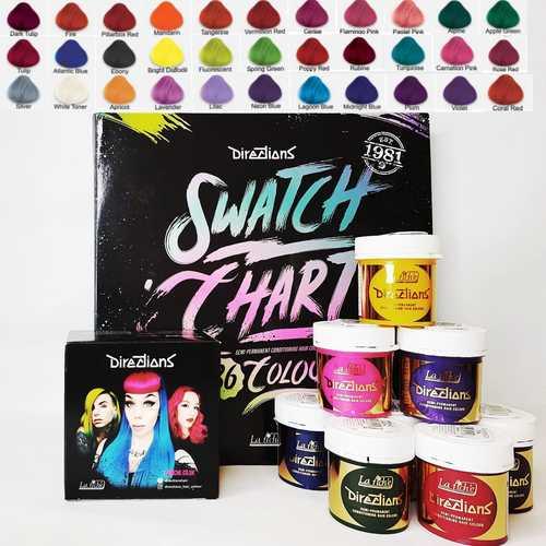 צבעי שיער קרייזי קולור לה ריץ LA RICHE צבעים משוגעים