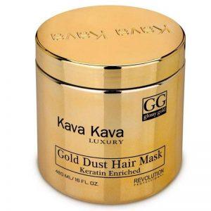מסכה זהב גולד דאסט 480 מל - קווה קווה KAVA KAVA